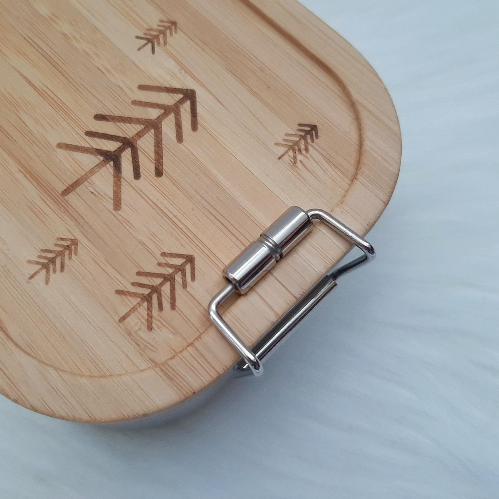 Bambus Lunchbox personalisiert 5