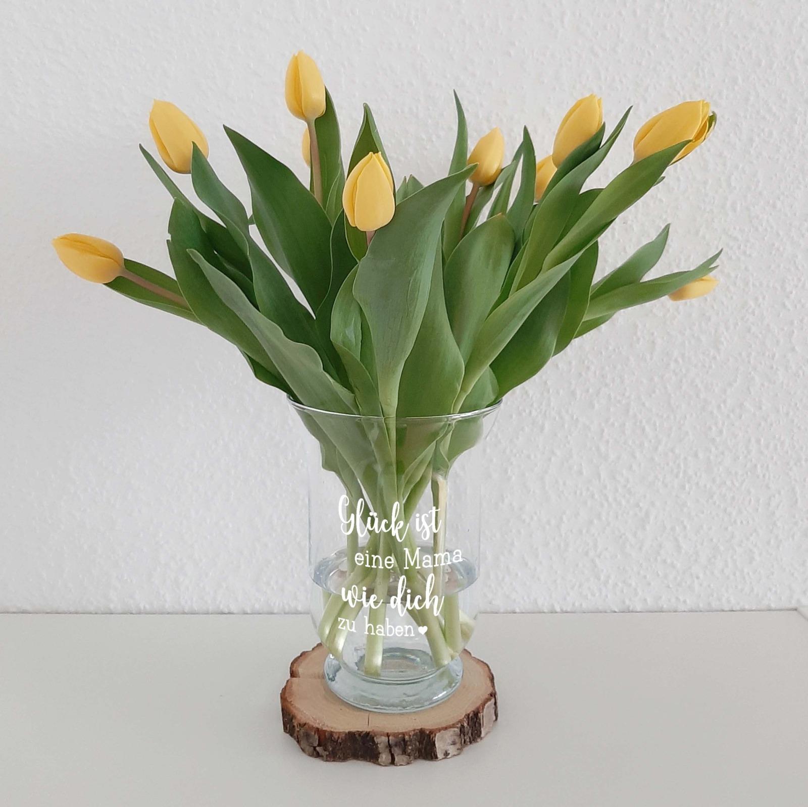 Blumentopf Glück Aufkleber 6