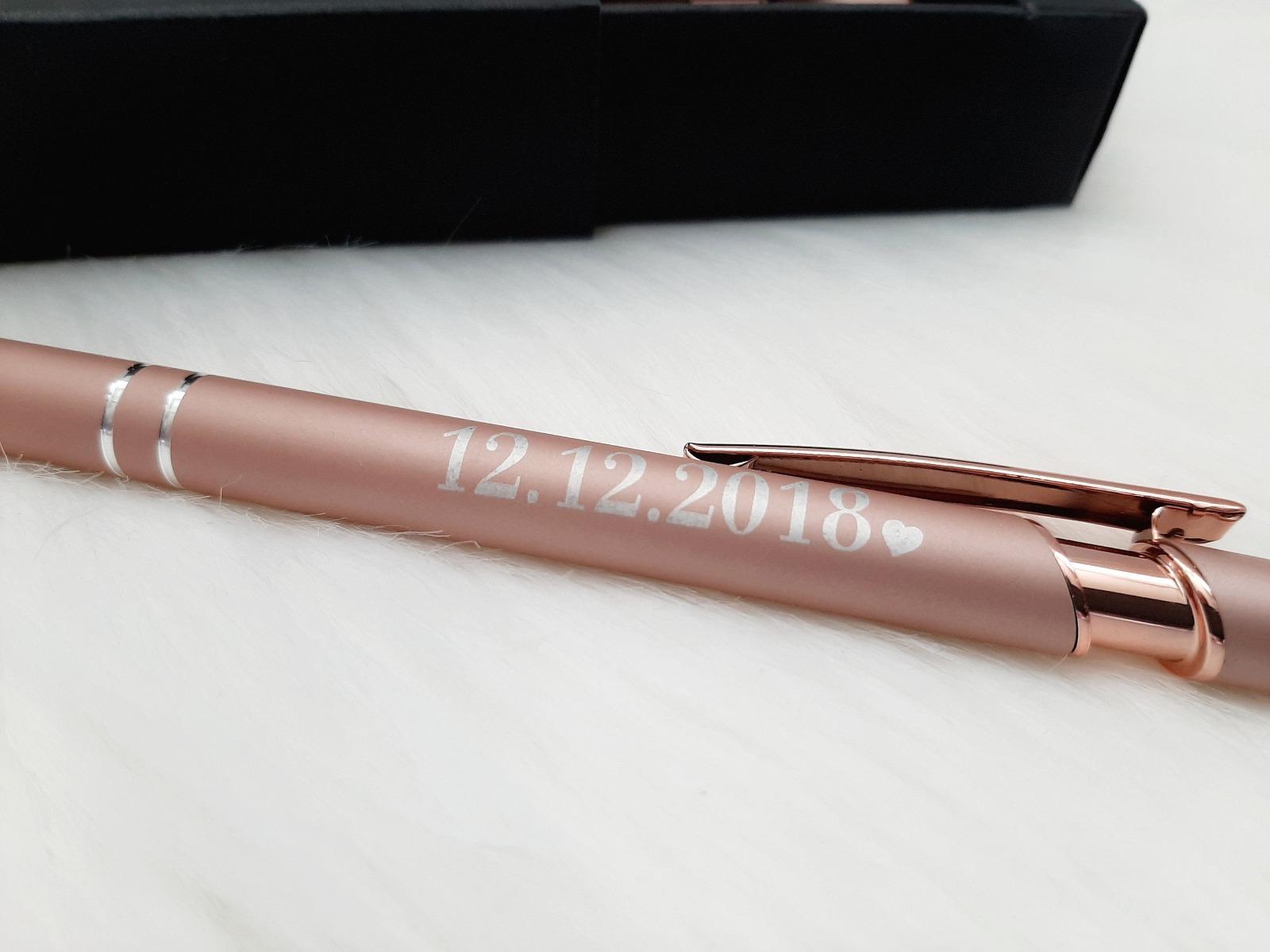 Kugelschreiber mit Name & Geschenkverpackung 6