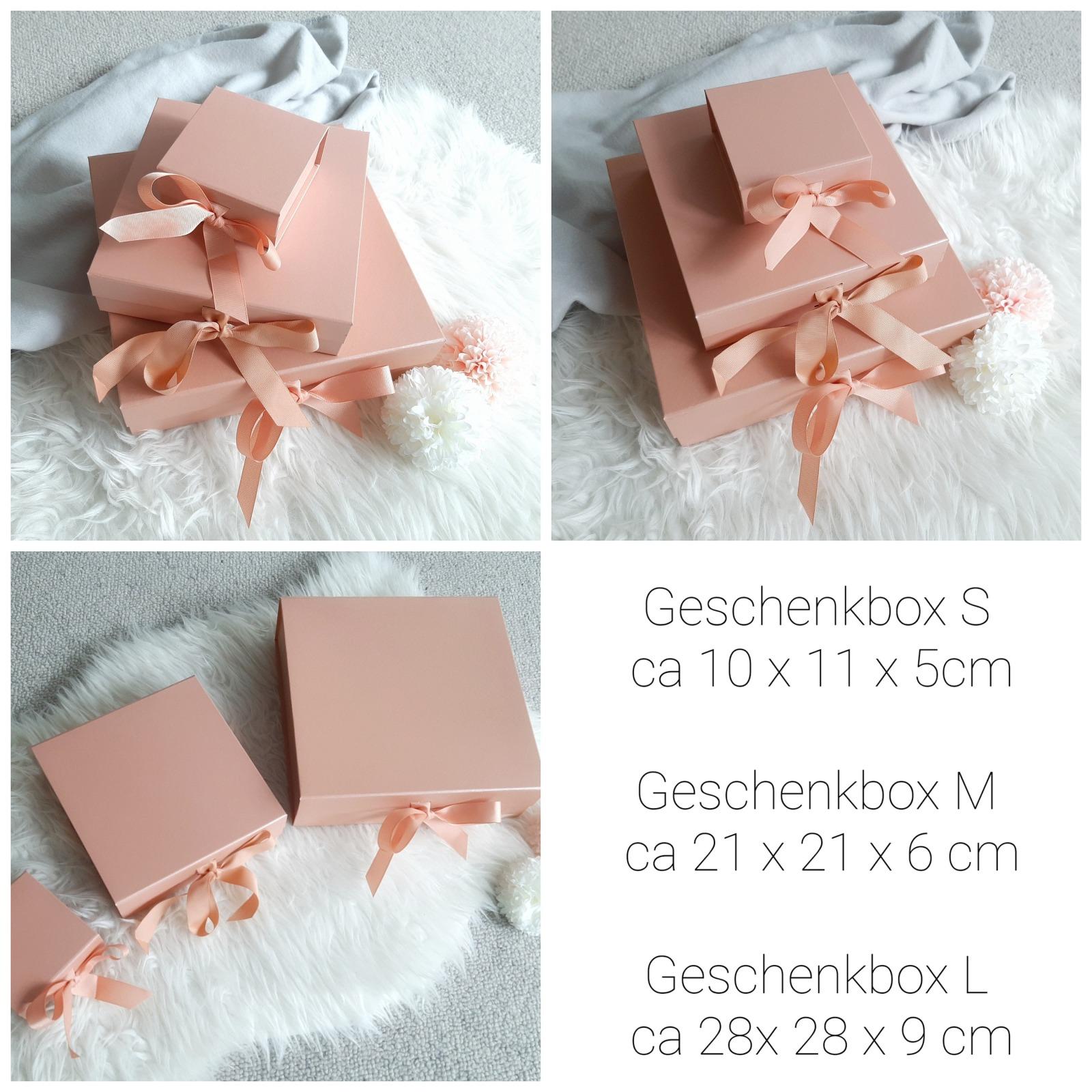 Geschenkbox mit Schleife & Widmung 5