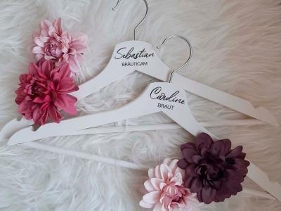 Weiße Kleiderbügel Aufkleber für Weiße Kleiderbügel