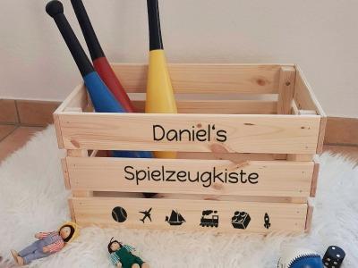 Spielzeugkiste Groß Aufkleber DIY Spiel Kiste