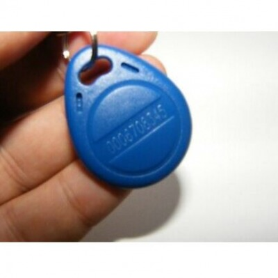 10x RFID Transponder kHz blau key