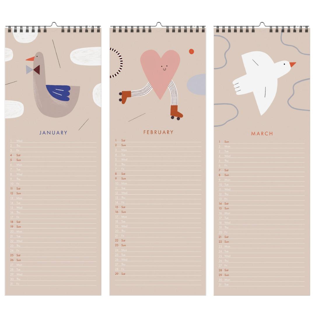 Geburtstagskalender Happy Nuukk 2