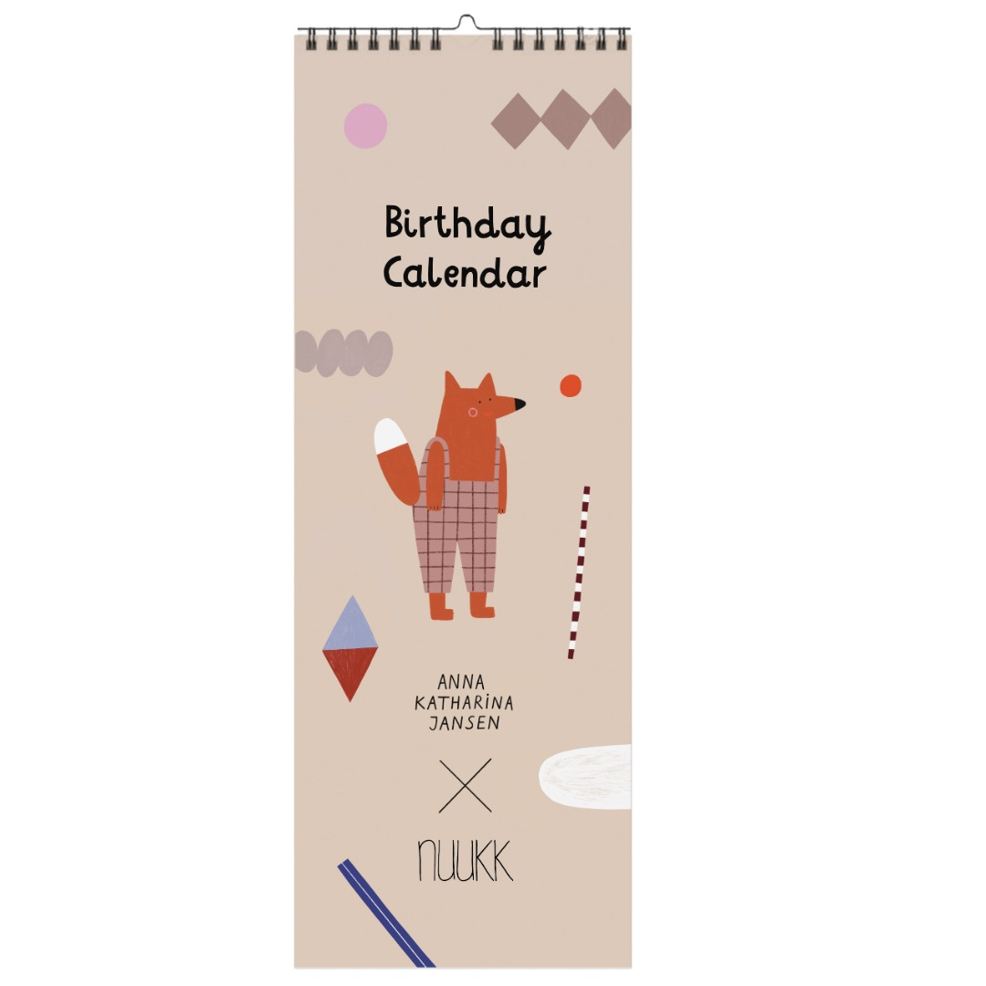 Geburtstagskalender Happy Nuukk