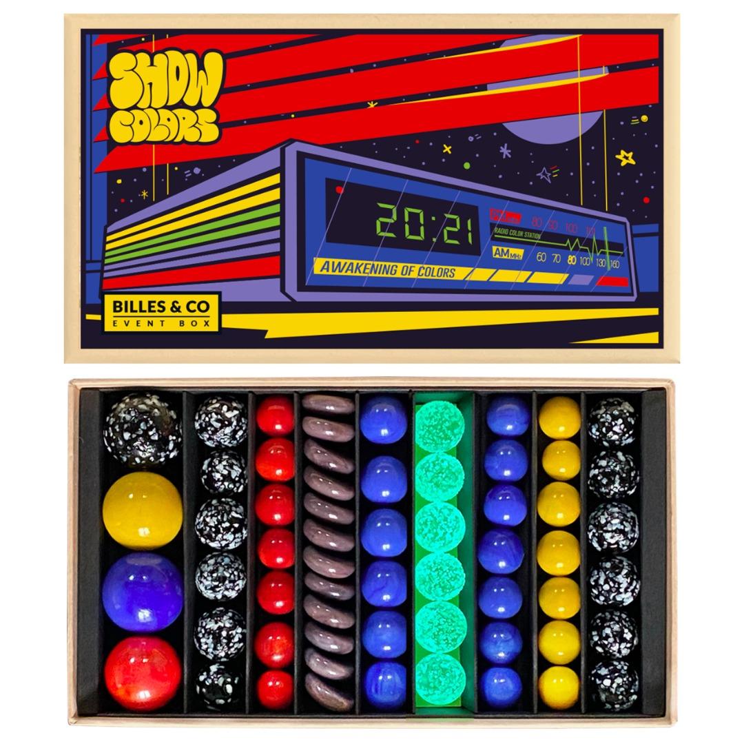 Murmeln Show Colors Radio Big Box