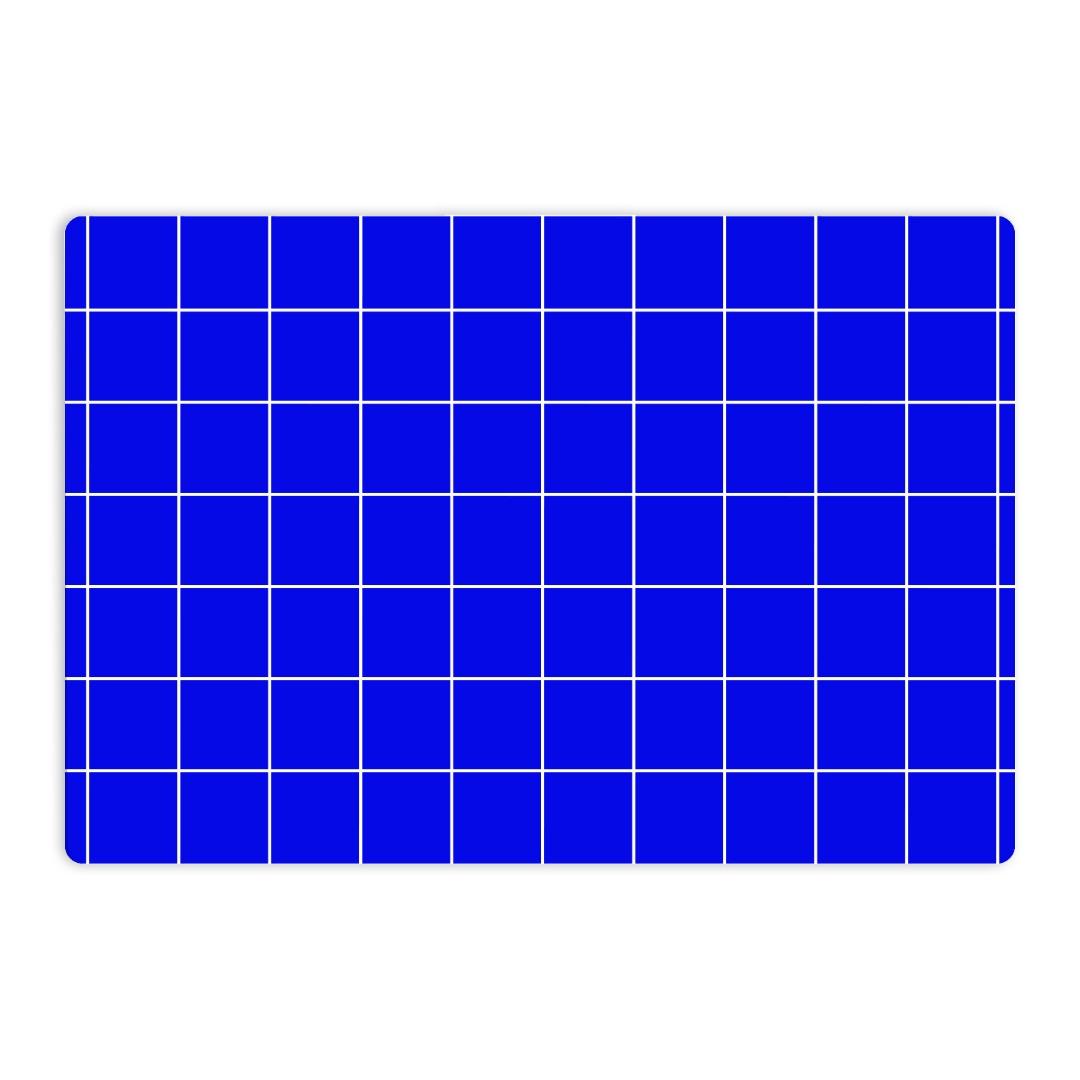 Frühstücksbrettchen Grid blau Nuukk