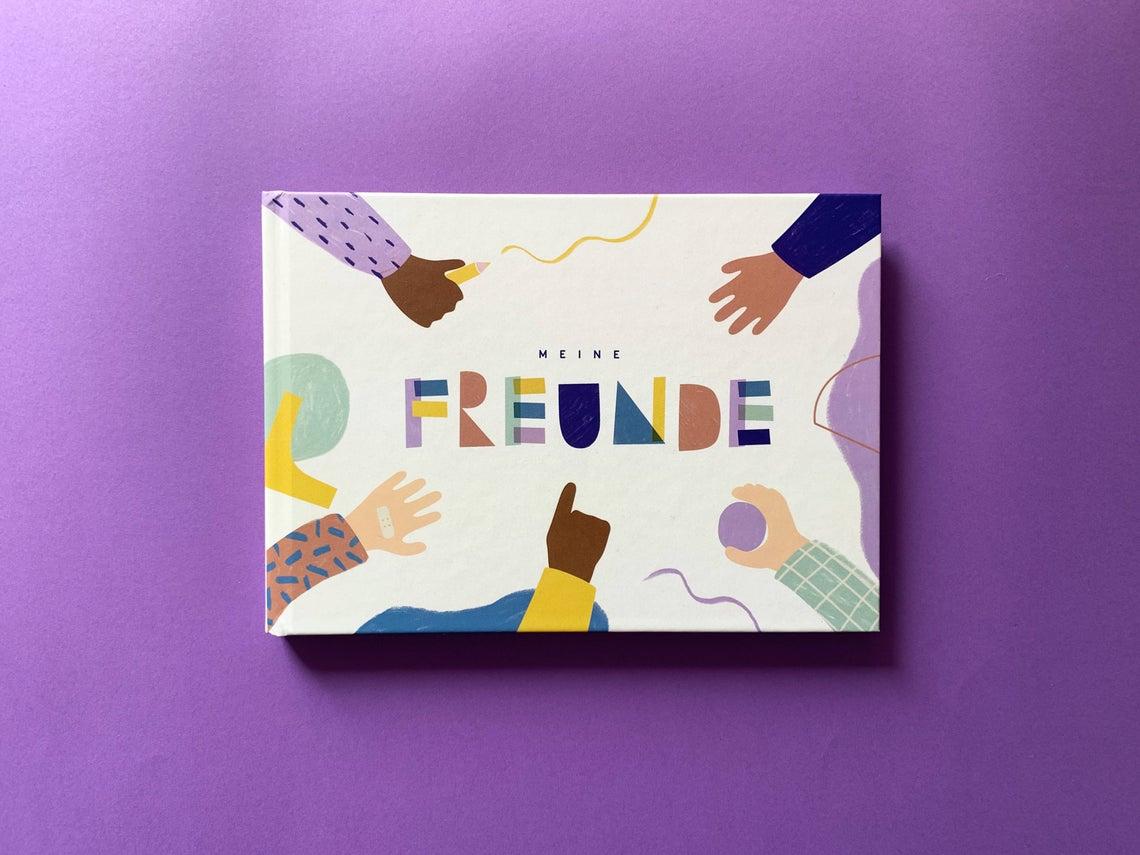 Freundebuch Anna Beddig