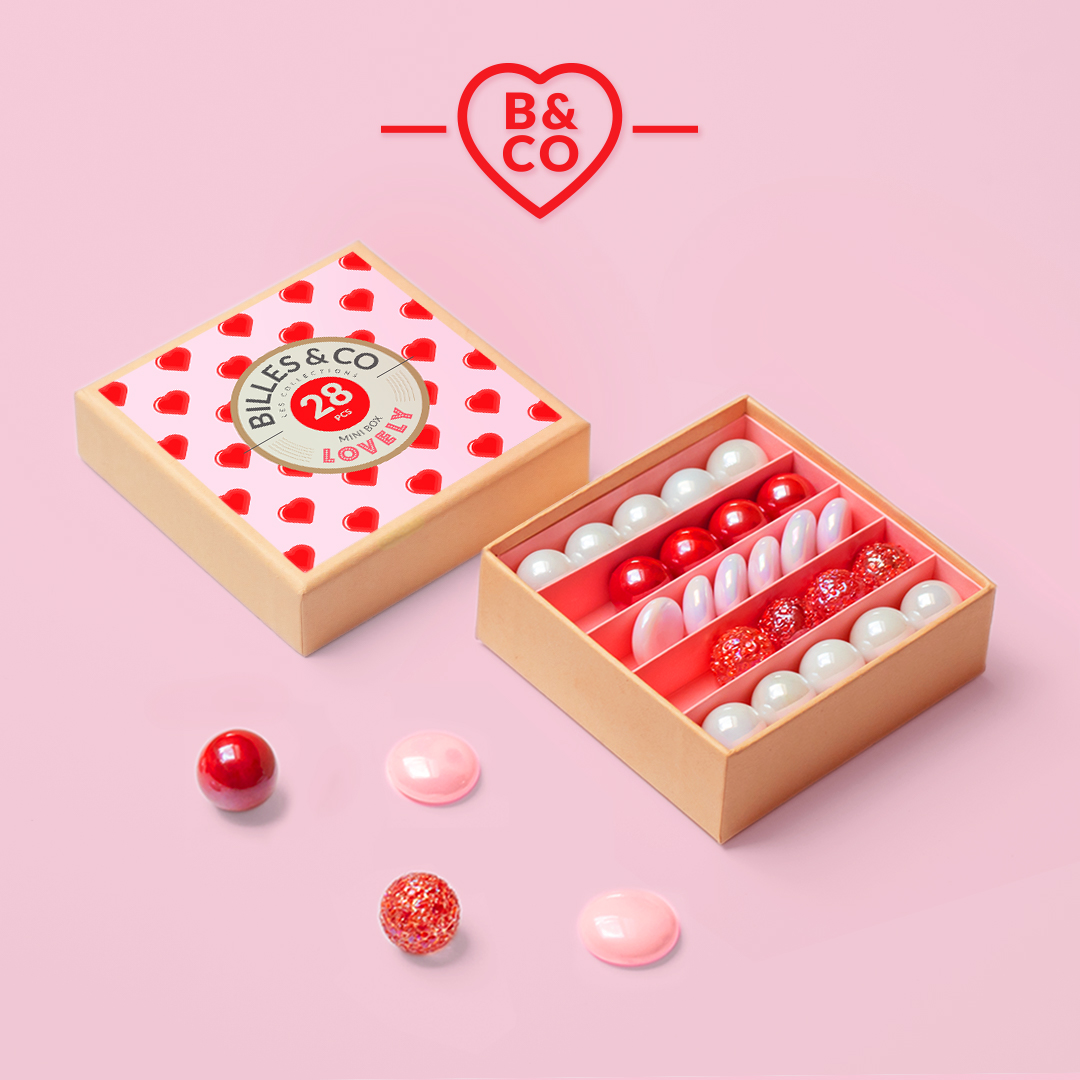 Murmeln Lovely Mini Box Billes Co