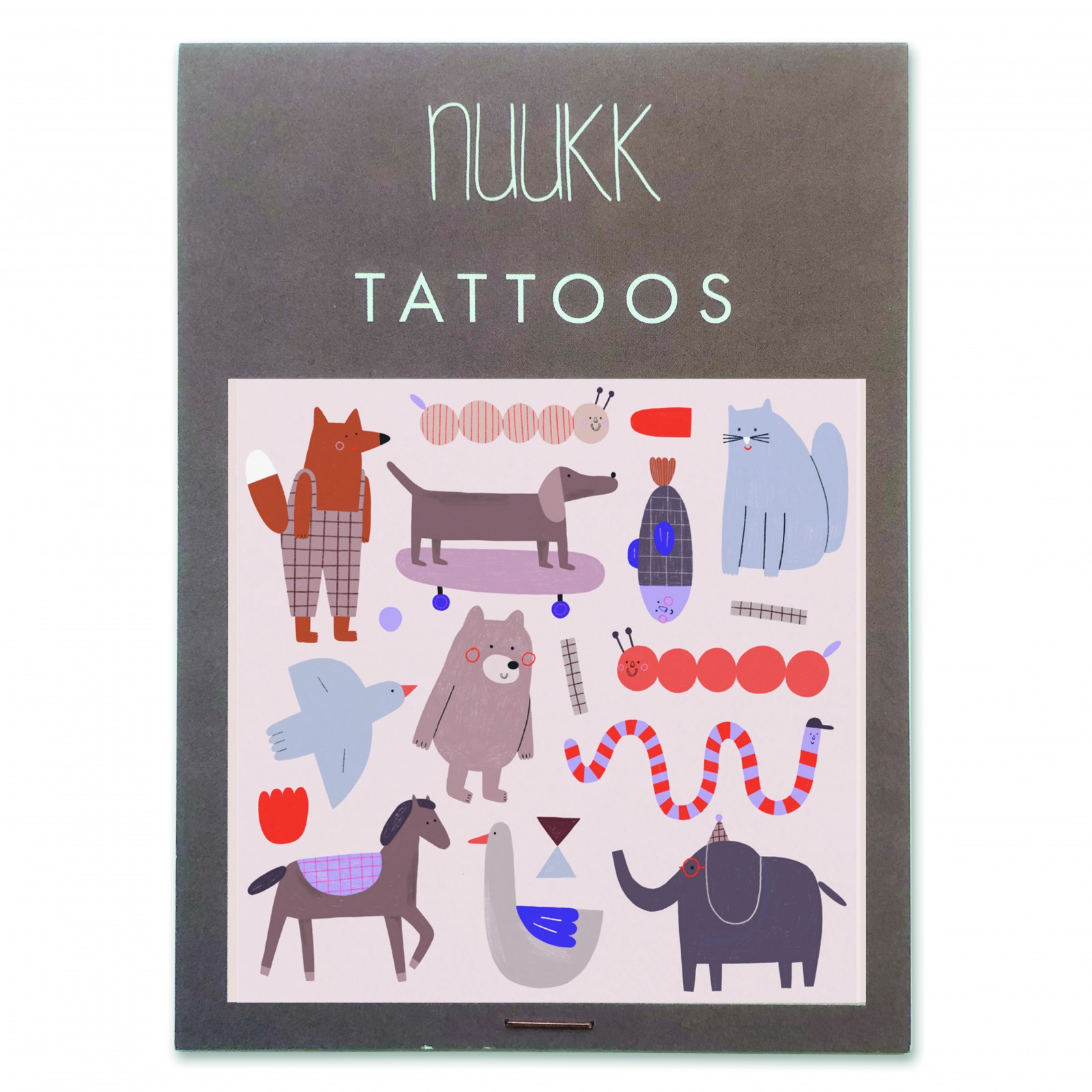 Tattoo Bear and Friends Nuukk