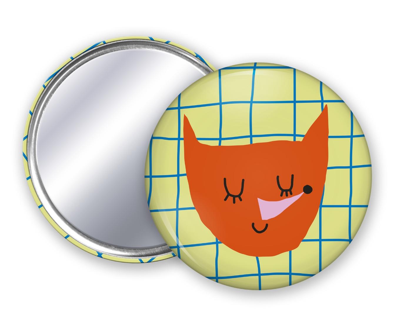 Taschenspiegel Fuchs Unter Pinien 4