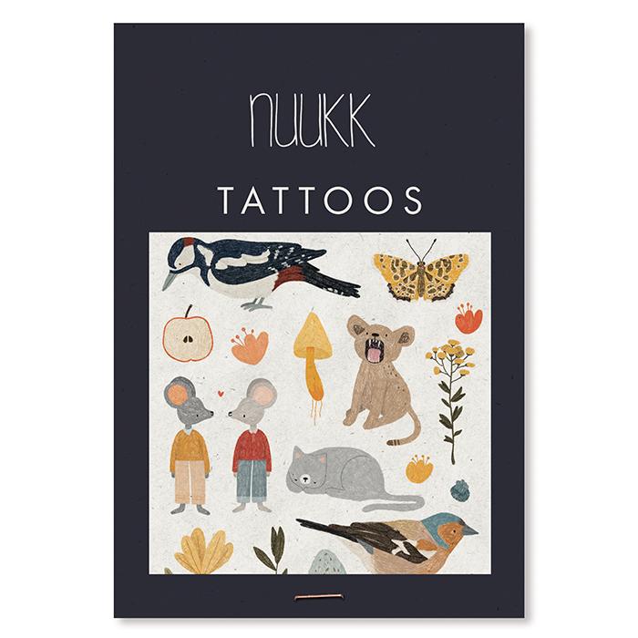 Tattoo kleiner Specht Nuukk