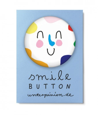 Smile Button Nice Unter Pinien Nice