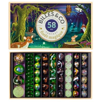 Murmeln Magic Forest Big Box Billes