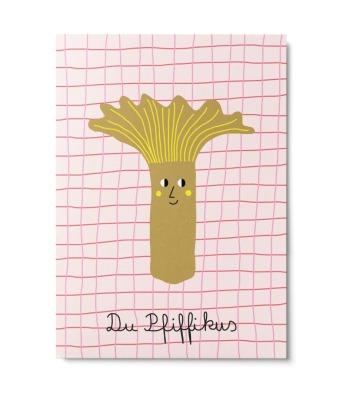 Postkarte Du Pfiffikus Unter Pinien Du