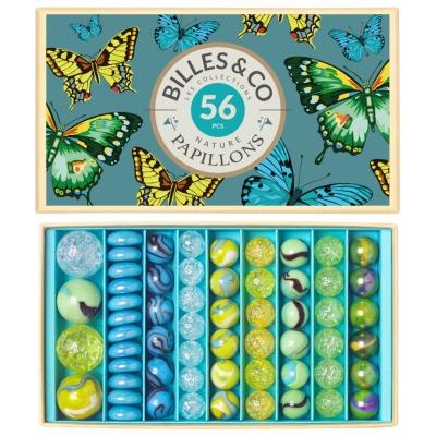 Murmeln Schmetterlinge Big Box Billes Co