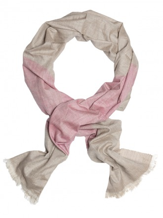 Aruna Rose Fawn 100 handcrafted cashmere