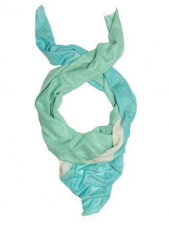 Thara Peppermint 100 finest cashmere scarve