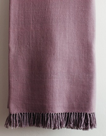 HandWerkKunst - soft touch blanket rose
