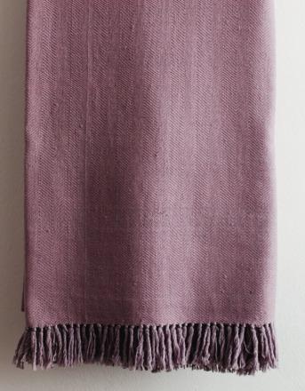 HandWerkKunst - soft touch blanket rose