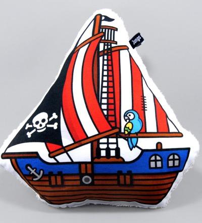 Piratenschiff Kuschelkissen