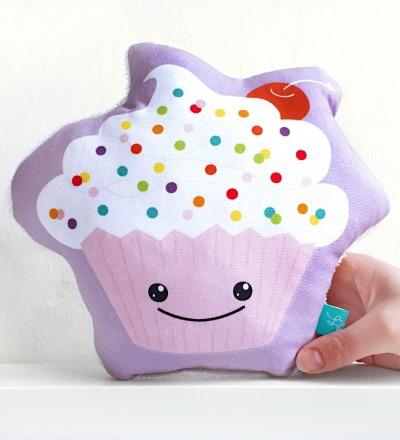 Cupcake als Kissen Cupcakekissen Muffinkissen Toertchen