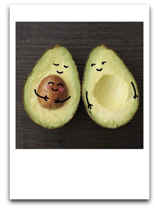 Pregnant Avocado Card