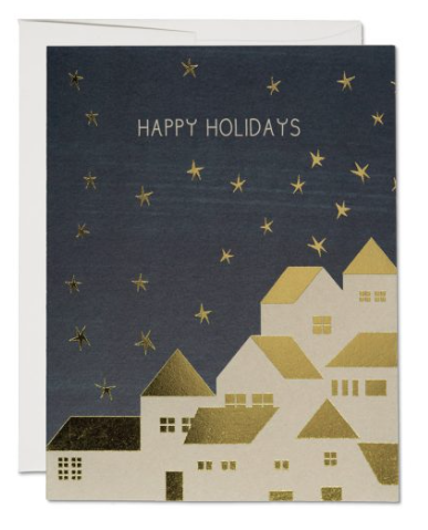 Gold House Card