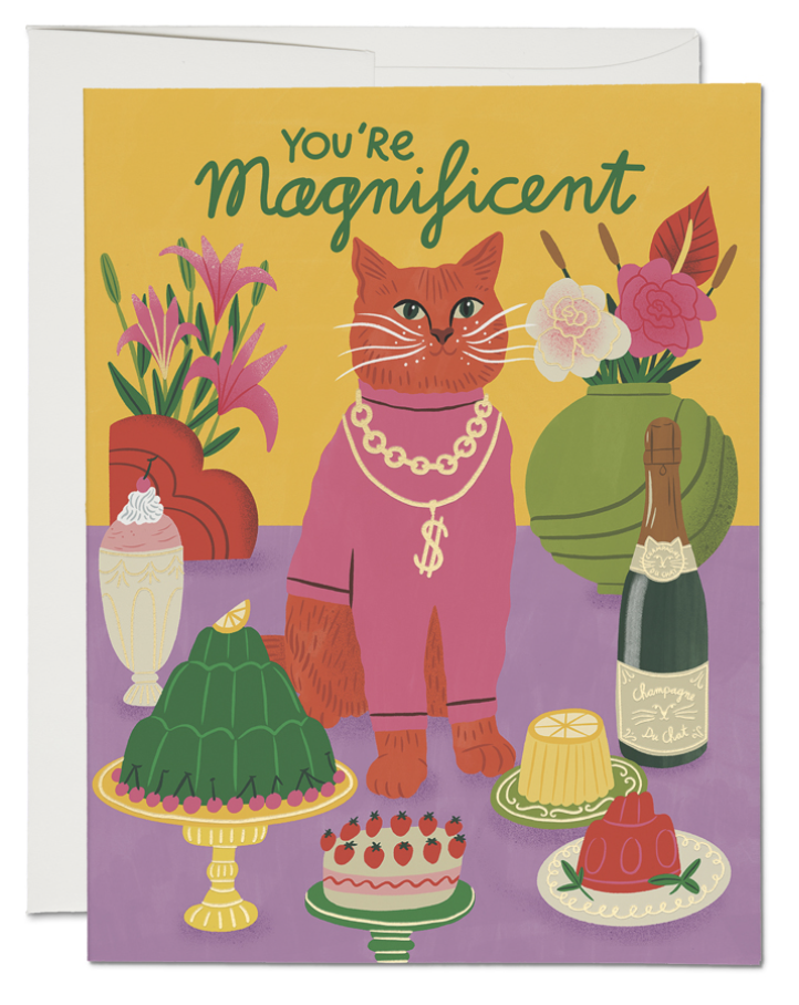 Magnificent Cat Card