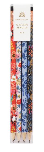 Floral Writing Pencil Set