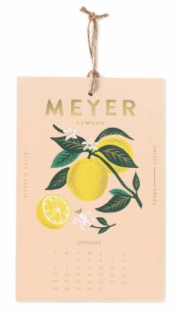 2019 Lemon Kalender 2