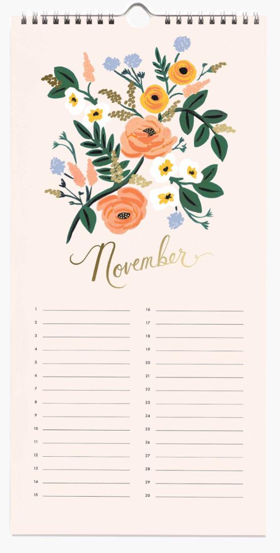 Celebration Calendar 12