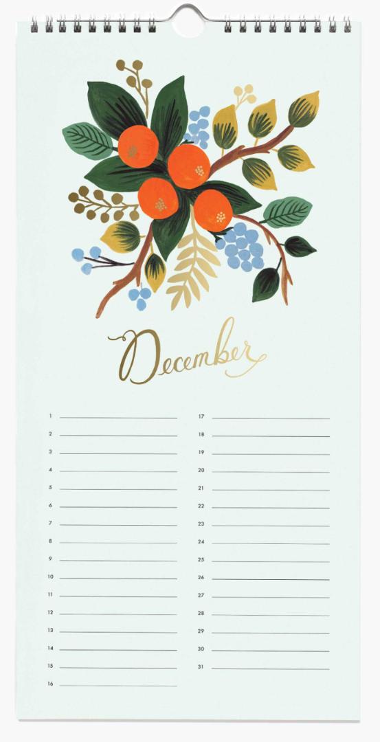Celebration Calendar 13