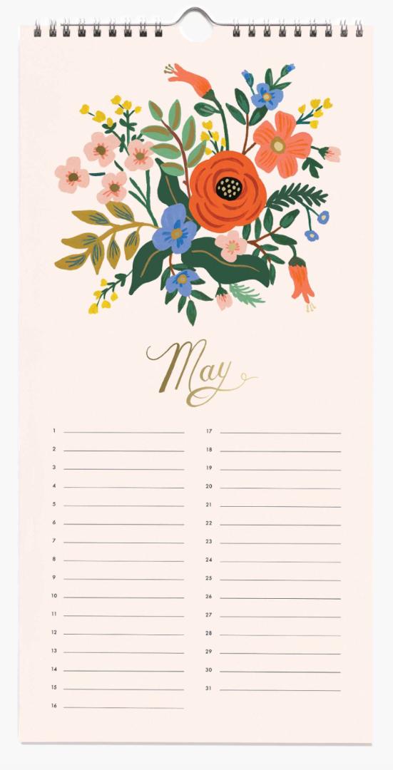 Celebration Calendar 6