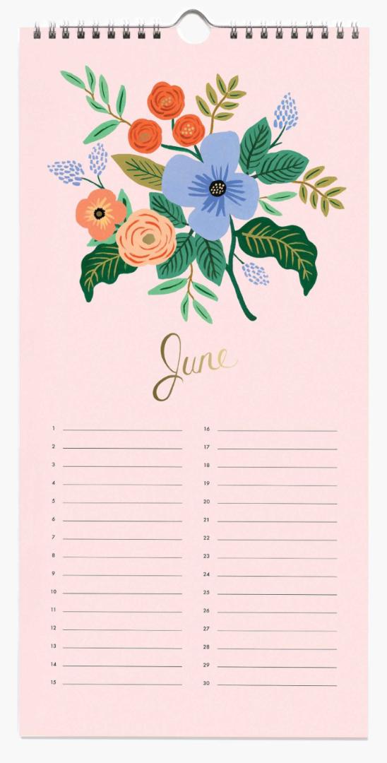 Celebration Calendar 7