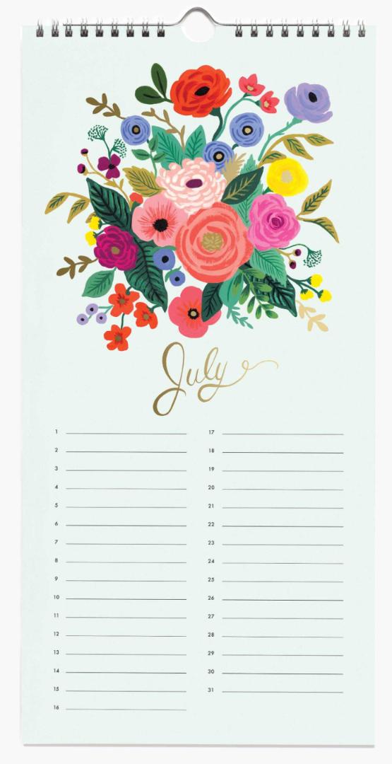 Celebration Calendar 8