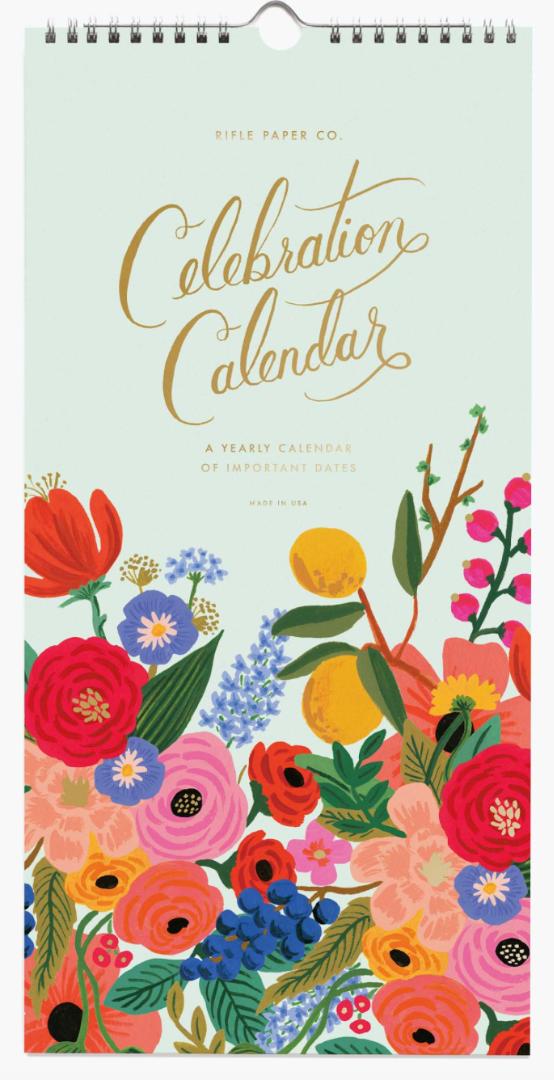 Celebration Calendar