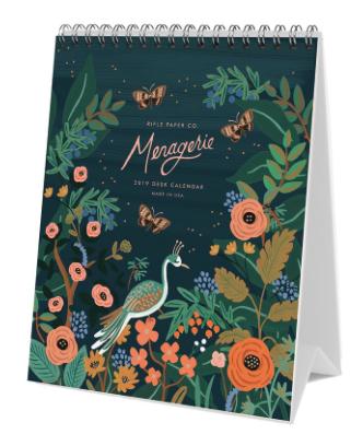 2019 Midnight Menagerie Calendar