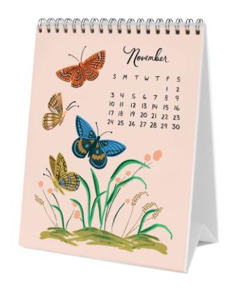 2019 Midnight Menagerie Calendar 12