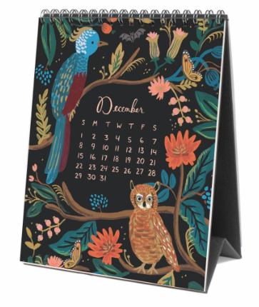 2019 Midnight Menagerie Calendar 13