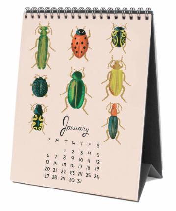 2019 Midnight Menagerie Calendar 2