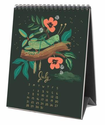 2019 Midnight Menagerie Calendar 8
