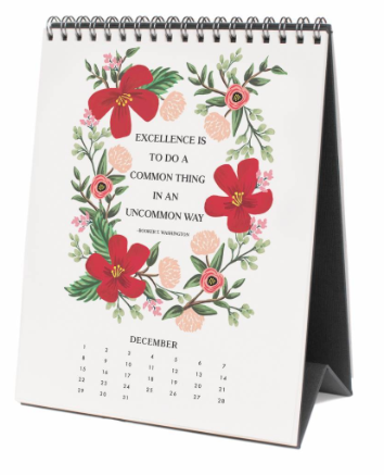 2019 Inspirational Quote Kalender 13