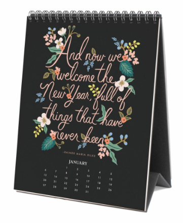 2019 Inspirational Quote Kalender 2
