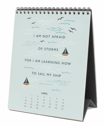 2019 Inspirational Quote Kalender 5