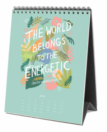 2019 Inspirational Quote Kalender 8