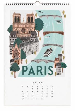 2019 World Traveler Calendar 2