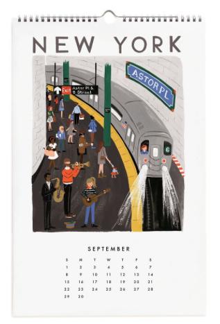 2019 World Traveler Calendar 3