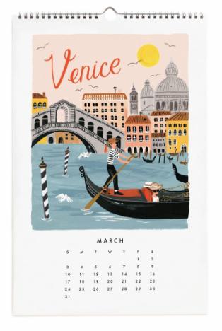 2019 World Traveler Calendar 4