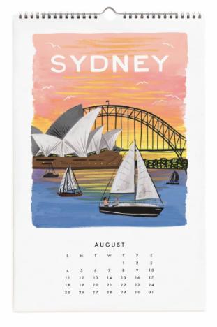 2019 World Traveler Calendar 9